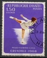 Haïti 1968 Y&T N°614 - Michel N°993 (o) - 1,50g JO De Grenoble - Haïti