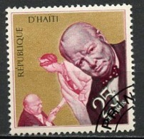 Haïti 1968 Y&T N°626 - Michel N°(?) (o) - 25c W Churchill - Haïti
