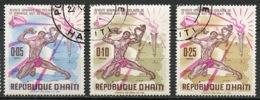 Haïti 1968 Y&T N°615 à 617 - Michel N°(?) (o) - Révolte Des Esclaves - Haïti