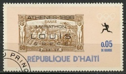 Haïti 1969 Y&T N°634 - Michel N°1028 (o) - 0,05c Vainqueur Olympique - Haïti