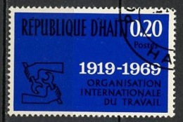 Haïti 1969 Y&T N°650 - Michel N°1068 (o) - 20c Organisation Du Travail - Haïti