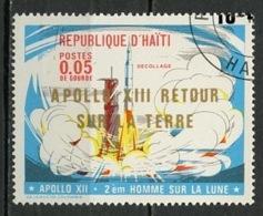 Haïti 1971 Y&T N°684 - Michel N°1143 (o) - 6c Apollo XII - Haïti