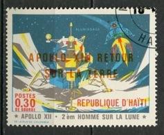Haïti 1971 Y&T N°689 - Michel N°1148 (o) - 30c Apollo XIII - Haïti