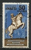 Haïti Service 1962 Y&T N°S6 - Michel N°S6 (o) - 50c JJ Dessalines - Haïti