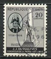 Haïti Poste Aérienne 1958-60 Y&T N°PA122A - Michel N°(?) (o) - 50c JJ Dessalines - Haïti
