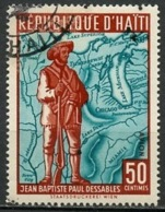 Haïti Poste Aérienne 1959 Y&T N°PA173 - Michel N°583 (o) - 50c P Dessables - Haïti