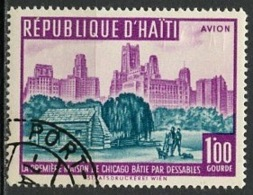 Haïti Poste Aérienne 1959 Y&T N°PA174 - Michel N°584 (o) - 1g Maison à Chicago - Haïti