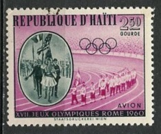 Haïti Poste Aérienne 1960 Y&T N°PA205 - Michel N°635 (o) - 2,50g JO De Rome - Haïti