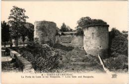6GPS 718 CPA - COUCY LE CHATEAU - LA PORTE DE LAON ET LES REMPARTS - Other Municipalities