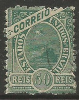 Brazil - 1894 Sugarloaf Mountain & Liberty Head 500r Used  Sc 120 - Used Stamps
