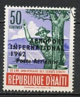 Haïti Poste Aérienne 1962 Y&T N°PA250 - Michel N°(?) (o) - 50c Scouts - Haïti