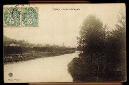CPA 54 POMPEY VALLEE DE LA MOSELLE 1907 IMP REUNIES NANCY MASSON POMPEY - Other Municipalities