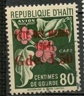 Haïti Poste Aérienne 1964 Y&T N°PA281 - Michel N°774 (o) - 1,50gs80c Fleur - Haïti