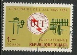 Haïti Poste Aérienne 1965 Y&T N°PA312 - Michel N°837 (o) - 1g UIT - Haïti