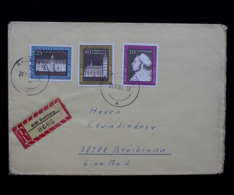 DDR / GDR; R-Brief, Mi.-Nr. 1317-1319; Registered Letter - Lettre Recommandée - DDR