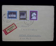 DDR / GDR; R-Brief, Mi.-Nr. 1317-1319; Registered Letter - Lettre Recommandée - Brieven En Documenten