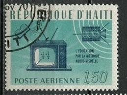 Haïti Poste Aérienne 1966 Y&T N°PA341 - Michel N°(?) (o) - 1,50c Alphabétisation - Haïti
