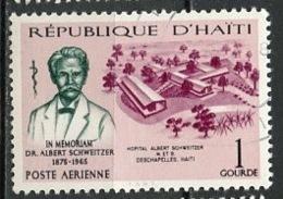 Haïti Poste Aérienne 1967 Y&T N°PA343 - Michel N°(?) (o) - 1g A Schweitzer - Haïti