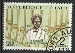Haïti Poste Aérienne 1967 Y&T N°PA345 - Michel N°(?) (o) - 12g A Schweitzer - Haïti
