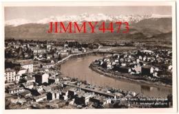 CPSM - GRENOBLE 38 Isère - Vue Panoramique Aérienne En Amont De L'Isère - N° 68 - Edit. La Cigogne - Grenoble