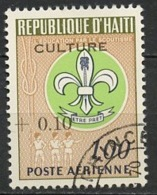 Haïti Poste Aérienne 1968 Y&T N°PA377 - Michel N°(?) (o) - 10cs1g Scoutisme - Haïti