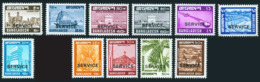 Bangladesh 1979-82 Harison Printed Service/official Stamp(for Government Official Use Only ) - Bangladesh