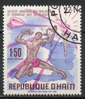 Haïti Poste Aérienne 1968 Y&T N°PA390 - Michel N°(?) (o) - 1,50g Révolte Des Esclaves - Haïti