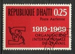 Haïti Poste Aérienne 1969 Y&T N°PA427 - Michel N°1069 (o) - 25c Organisation Du Travail - Haïti