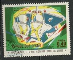 Haïti Poste Aérienne 1971 Y&T N°PA458 - Michel N°(?) (o) - 40c Apollo XII - Haïti