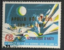 Haïti Poste Aérienne 1971 Y&T N°PA464 - Michel N°(?) (o) - 25c Apollo XIII - Haïti