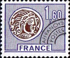 France Préo N* Yv:144 Mi:1950 Monnaie Gauloise (avec Charnière) - 1964-1988