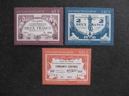 Polynésie: TB Série N° 818 Au N° 820 ,neufs XX . - Neufs