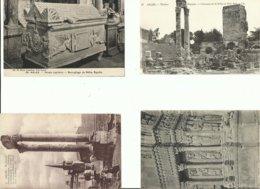 13LOT DE 4 CARTES DE ARLES DOS VIERGE N° DE CASIER 342 - Arles