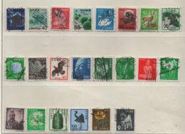 Japan 1968-89 S Bild/Beschreibung 22 Marken Fauna, Flora, Kulturerbe, Gestempelt, Used - 1926-89 Emperor Hirohito (Showa Era)