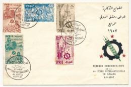 SYRIE - Enveloppe - 4eme Foire Internationale De Damas - 1 Er Septembre 1957 - Syrie