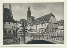 AK  Strasbourg Tram Rabenbrücke - Tramways