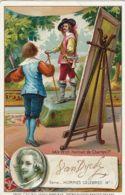 CHROMO CACAO BENSDORP AMSTERDAM 1900 ANTOON VAN DYCK PORTRAIT DE CHARLES Ier - Cioccolato