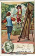 CHROMO CHOCOLATERIE D'AIGUEBELLE 1900 ANTOON VAN DYCK - Aiguebelle