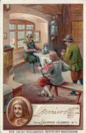 CHROMO CACAO BENSDORP AMSTERDAM 1900 DAVID TENIERS LE JEUNE - Altri