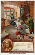 CHROMO CHOCOLATERIE D'AIGUEBELLE 1900 DAVID TENIERS - Aiguebelle