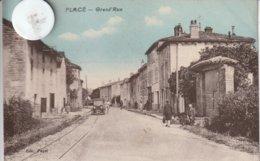28 - Très Belle Carte Postale Ancienne De Placé   En Eure Et Loire   Grande Rue - Otros Municipios