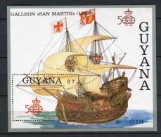 Guyana 1988. Yvert Block 17 ** MNH. - Christoffel Columbus