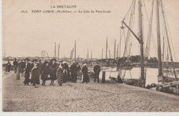Morbihan PORT-LOUIS La Cale De Du Port-Louis - France