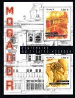 France 2019 Mi Nr  Blok 7301 + 7302: 100 Jaar Theater Mogador - Francia
