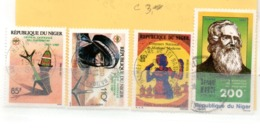 NIGER OB N° 742 + 743 + 756 + 730 - Niger (1960-...)