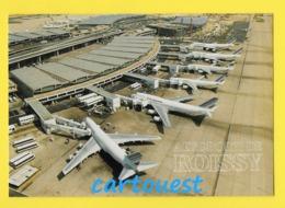 CPM ☺♦♦ AIRPORT/ AEROPORT ♥♥♣♣☺♣♣ FLUGAFEN - ROISSY - Vue Aéroport Charles De Gaulle  ♦♦☺ - Aérodromes