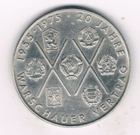 10 MARK 1975 A  DDR  DUITSLAND /6840/ - [ 6] 1949-1990 : GDR - German Dem. Rep.