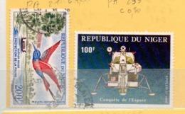 NIGER OB N° PA 21 + PA 295 - Niger (1960-...)