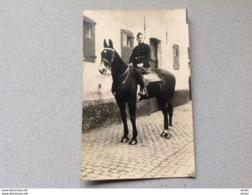 Photo Carte Carte Militaire Militaria Soldat Cavalerie - Militaria