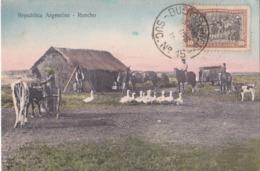 CPA Argentine / Republica Argentina - Rancho  - 1916 - Argentine